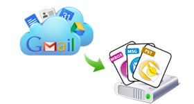 Export Gmail to PST, EML, MBOX or MSG